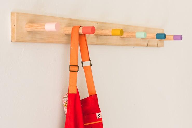 15 Creative DIY Coat Racks