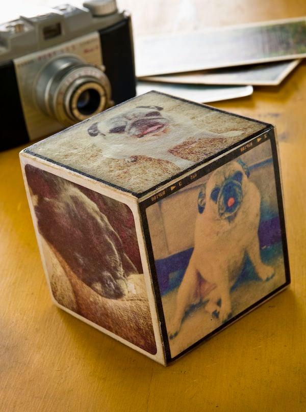 Mod-Podge-photo-transfer-Instagram-cube