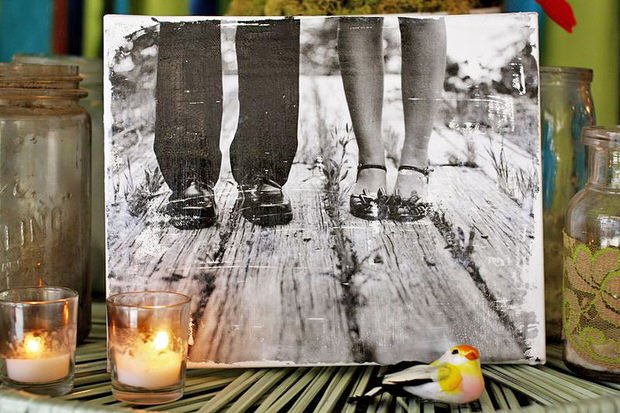 diy photo transfer projects the budget decorator