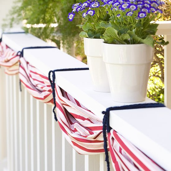 Quick and Easy Fourth of July Decorating