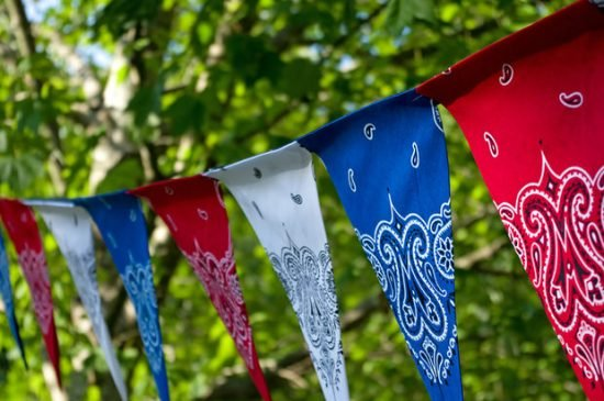 Front Porch - 4th of July Decorating Ideas