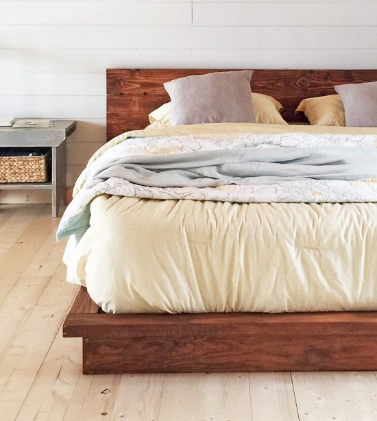 18 Gorgeous DIY Bed Frames