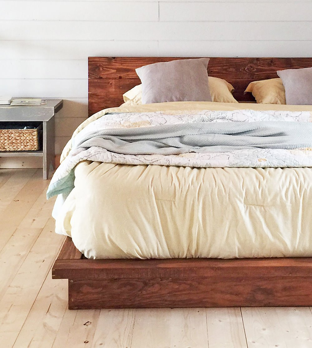 18 Gorgeous Diy Bed Frames The Budget Decorator