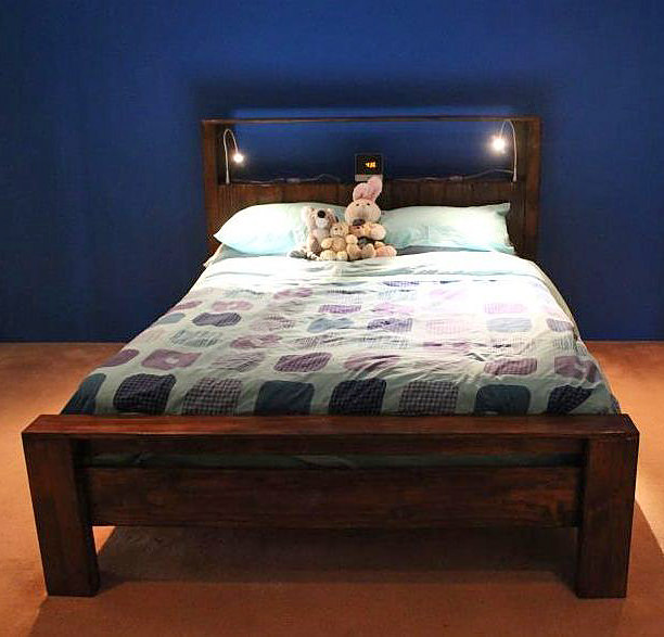 pallet bed frame diy king 2