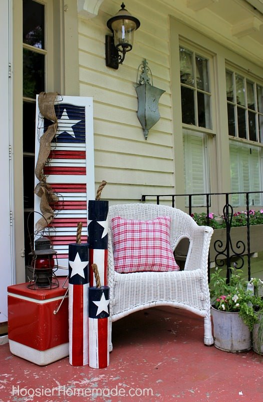 Front Porch Amp Outdoor 4th Of July Decorating Ideas The