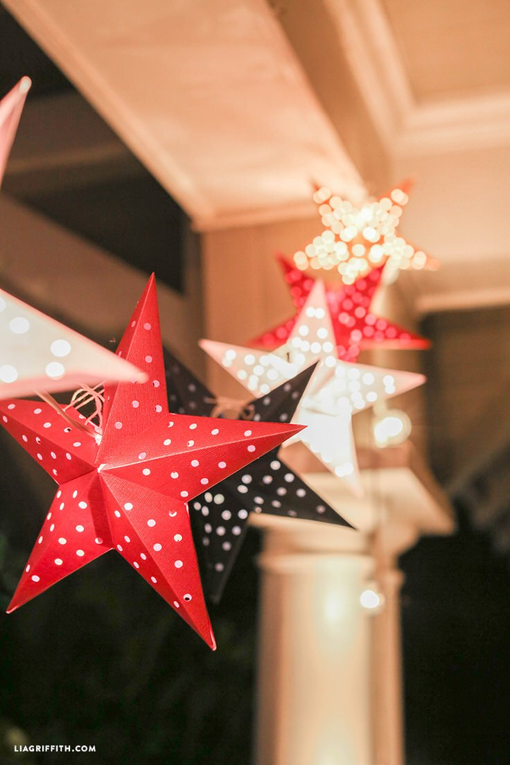 Front Porch Outdoor Th Of July Decorating Ideas  E  A The Budget Decorator