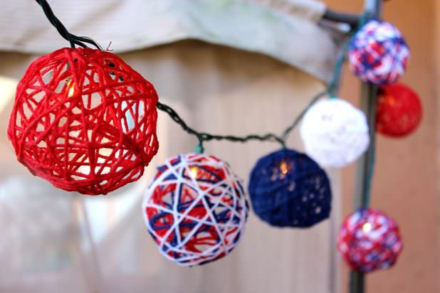 Quick Fourth of July Decorating
