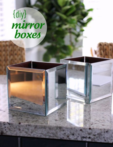 Dollar store diy updated the budget decorator for Dollar store mirror craft