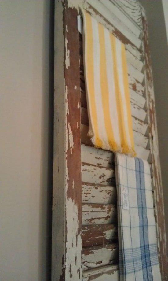 Repurposed Window Shutter Projects