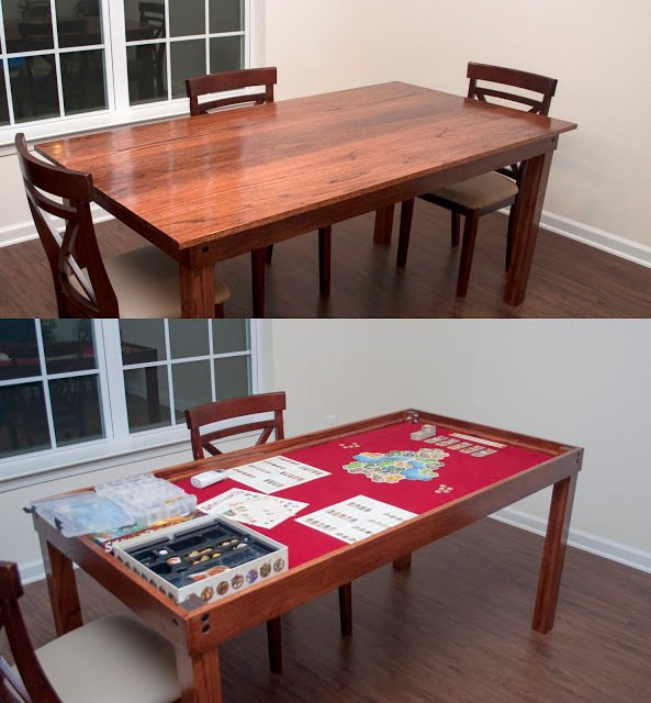 Diy Dining Room Storage Ideas: DIY Game Tables • The Budget Decorator