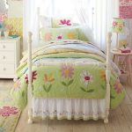 Girls Garden Theme Bedroom