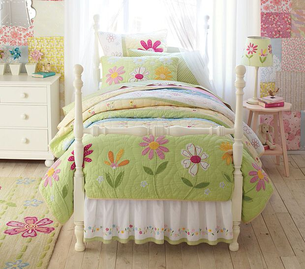 Girls Garden Bedroom