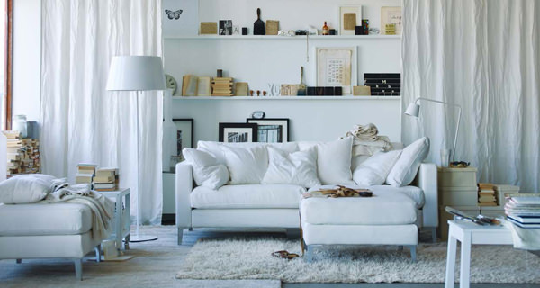 ikea-comfortable-white-sofa-and-white-furniture