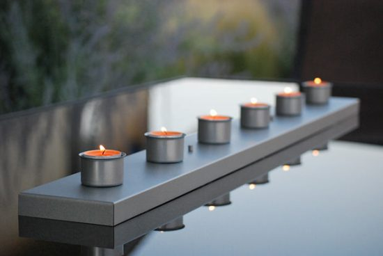 Outdoor Candle Holder