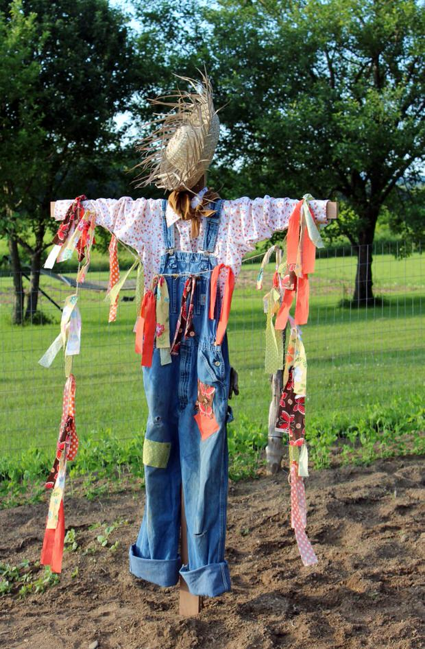 Diy Decor How To Make A Scarecrow The Budget Decorator