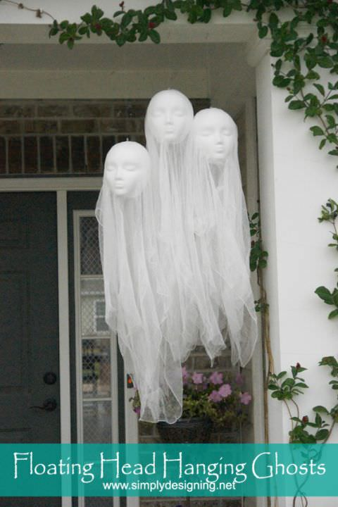 Diy halloween decorating ideas projects the budget decorator from wholesale halloween costumes make this diy masking tape hand halloween prop for next to nothing this would also look great in a halloween cemetery solutioingenieria Images