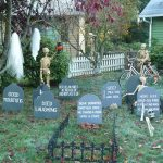 How to Make a Halloween Graveyard!