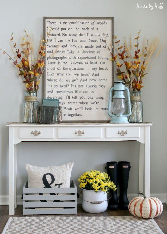 13 Easy and Inexpensive Fall Decorating Ideas • The Budget Decorator