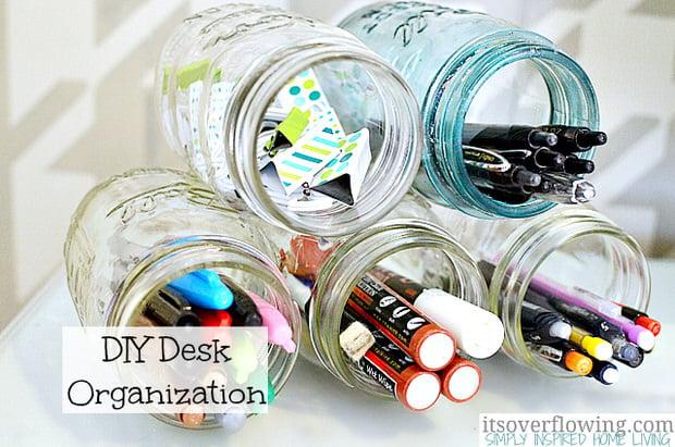 DIY-Desk-Organization-Mason-Jars-ItsOverflowing