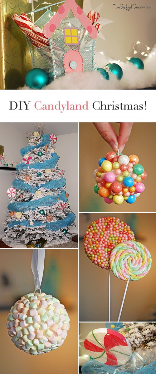 diy candy land christmas theme