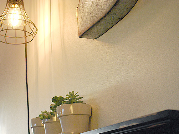 Easy DIY Faux Fireplace
