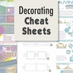 Decorating Cheat Sheets