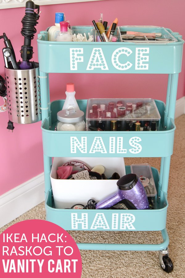budget makeup storage ideas the budget decorator