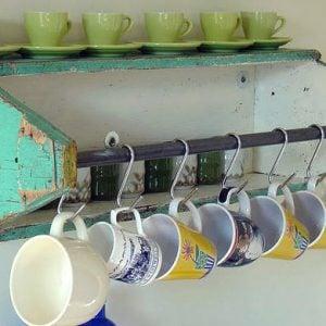 Storage Ideas Using Repurposed Finds