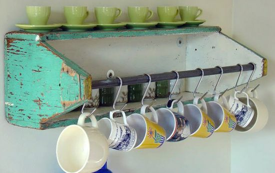 Storage Ideas Using Repurposed Finds