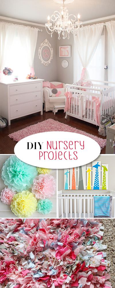 DIY Nursery & Baby Room Decorating • The Budget Decorator