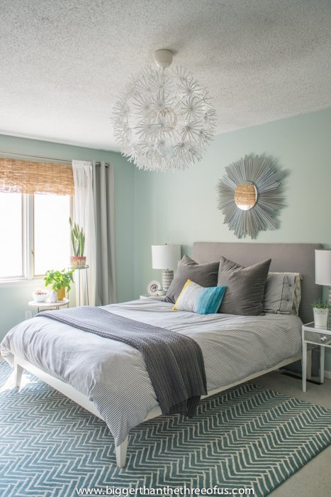 Lauren from  The Thinking Closet  has a different take on her makeover  a  DIY nautical master bedroom reveal  I love the theme of this room. Drool Worthy Decor   Dramatic Master Bedroom Makeovers   The