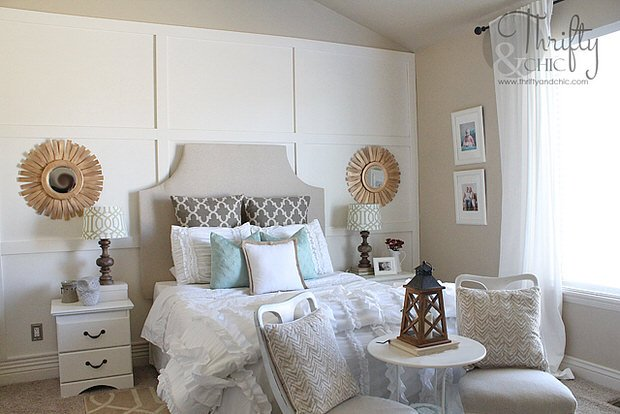 Drool Worthy Decor - Dramatic Master Bedroom Makeovers 26