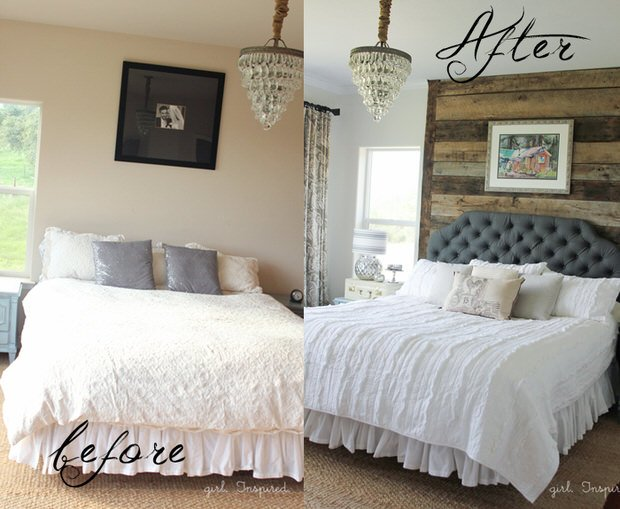 Bedroom Makeover Drool Worthy Decor  Dramatic Master Bedroom Makeovers • The