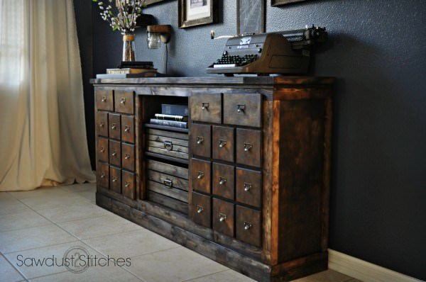 8 Ways To Repurpose A Thrift Store Dresser The Budget