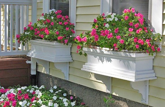 diy window box projects the budget decorator. Black Bedroom Furniture Sets. Home Design Ideas