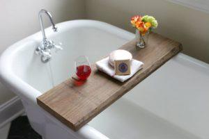 diy spa bathroom on a budget! • the budget decorator
