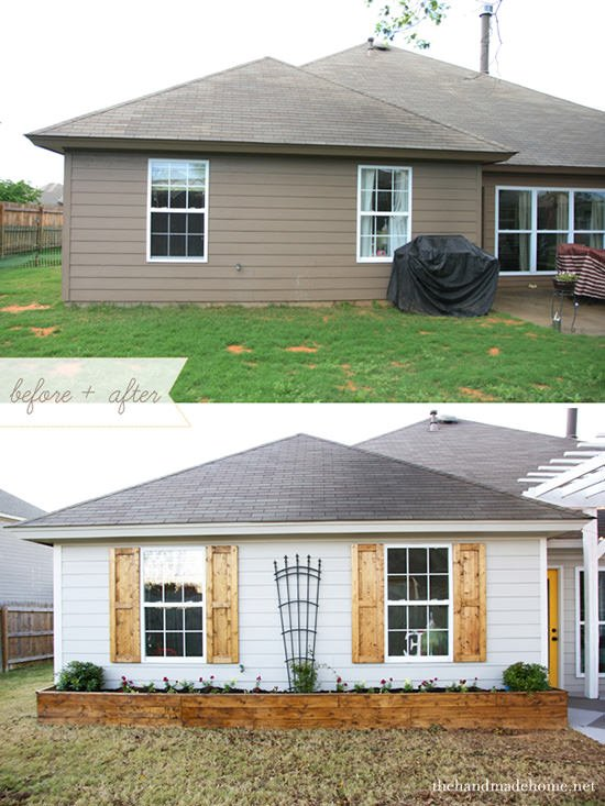 One Day Curb Appeal Projects