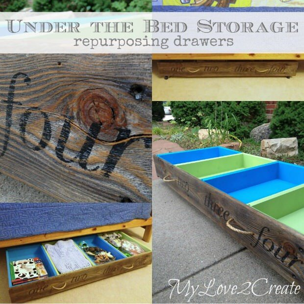 DIY repurposed Drawer Projects 36