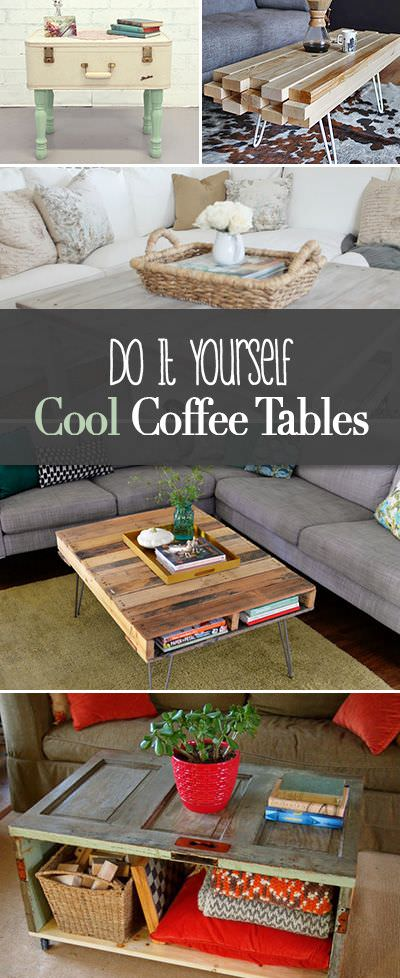 Terrific Diy Cool Coffee Table Ideas Projects The Budget Decorator Gmtry Best Dining Table And Chair Ideas Images Gmtryco