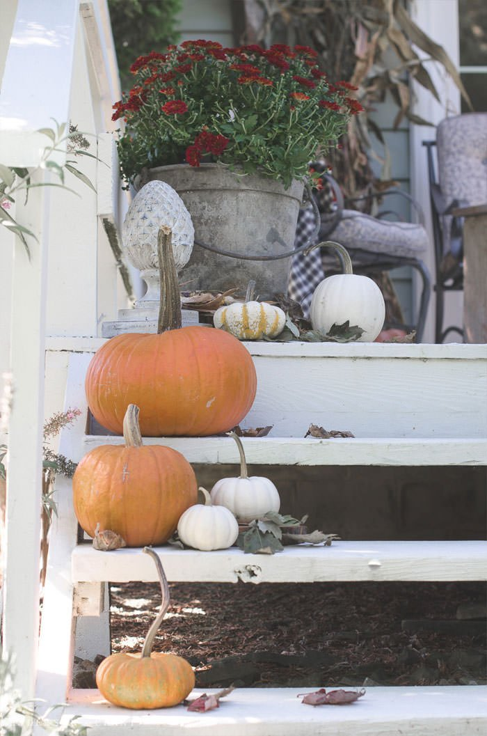 Fall Front Porch Decorating Ideas a Bud • The
