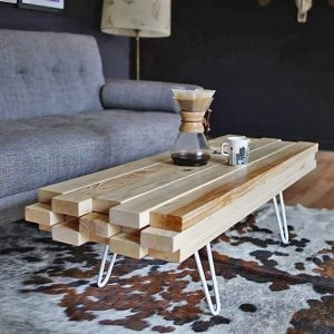 DIY Cool Coffee Table Ideas & Projects