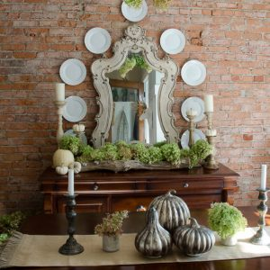 Fall Decorating Ideas Home Tours- Fall Dining Room