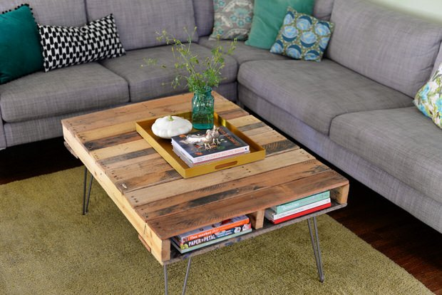 Hairpin Leg Pallet Table Part 57