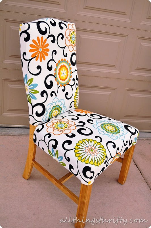 How To Reupholster A Chair The Budget Decorator