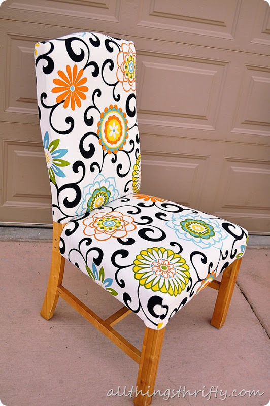 Brilliant How To Reupholster A Chair The Budget Decorator Largest Home Design Picture Inspirations Pitcheantrous
