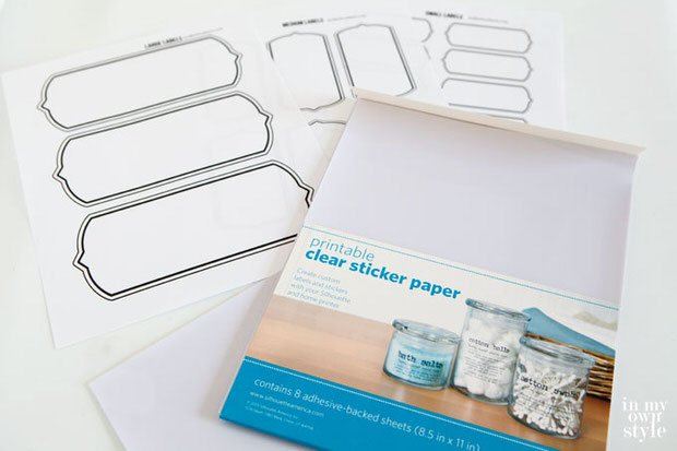 Clear-Sticker-paper-to-make-labels