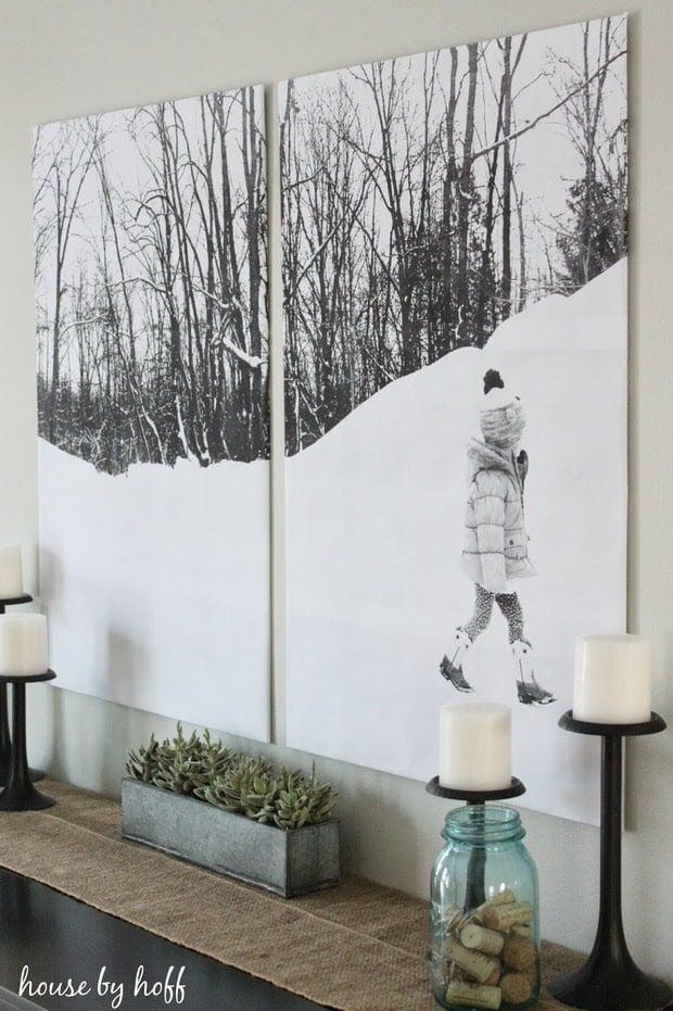 Wall art under $10