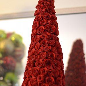 DIY Christmas Cone Trees- Roses Tree