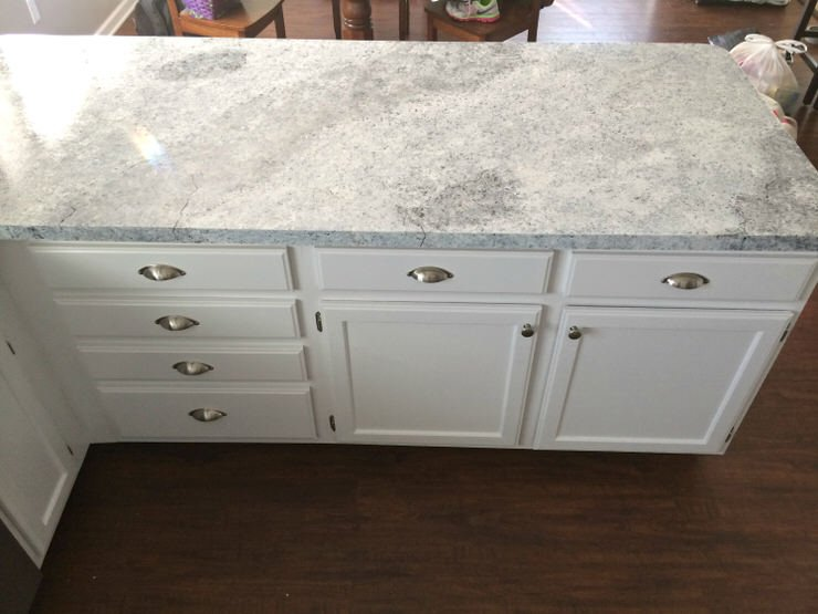 DIY Faux Granite Countertops in Just a Few Easy Steps ...