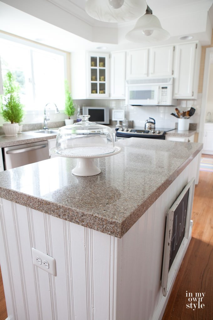 DIY Faux Granite Countertops in Just a Few Easy Steps • The ...
